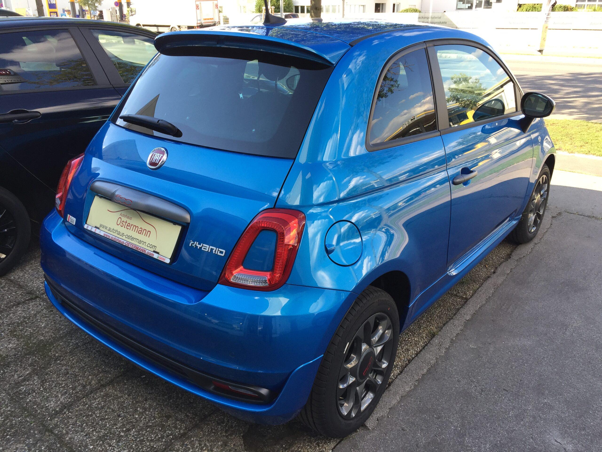 Fiat 500 FireFly 1.0 Hybrid 70 Sport, NEUWAGEN full